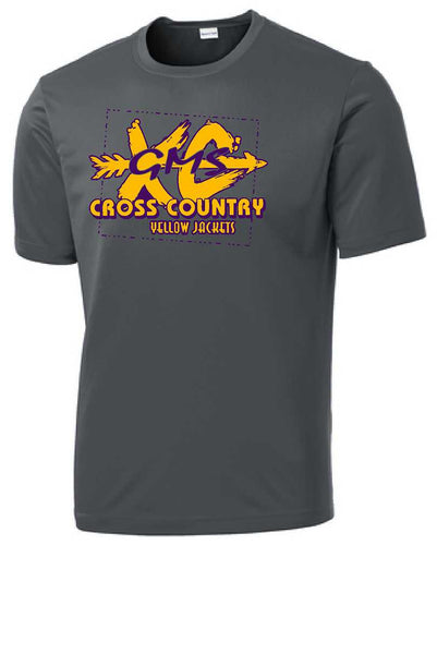 GMS Cross Country Adult Performance Tee