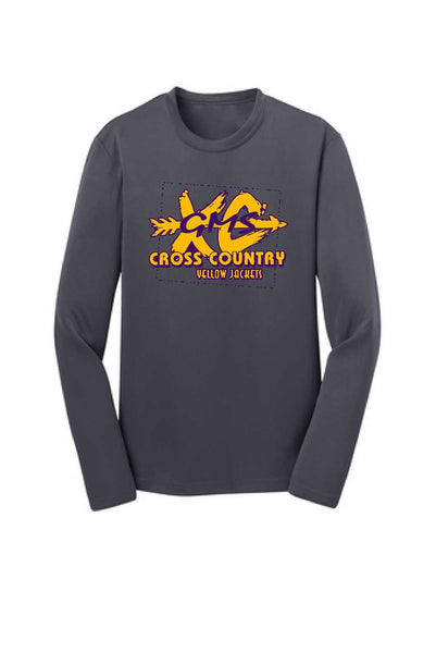 GMS Cross Country Youth Performance Long Sleeve Tee