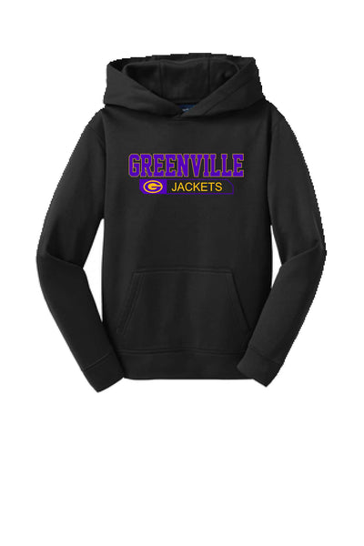 Greenville Youth Performance Hoodie