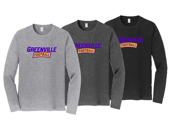 Greenville Football Adult Long Sleeve