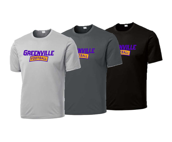 Greenville Football Performance Tee