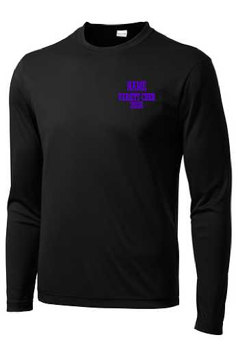 Greenville Cheer Adult Performance Long Sleeve