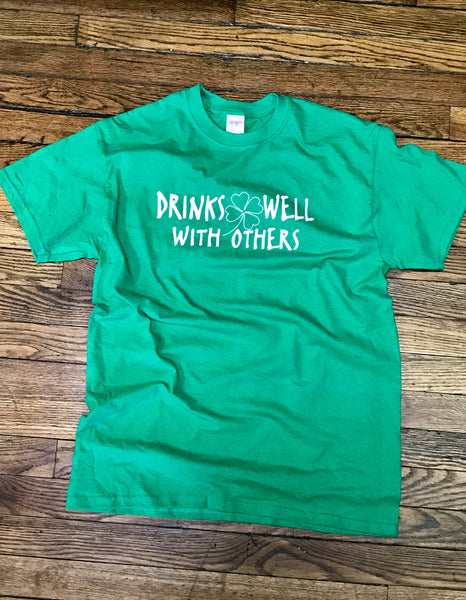 Drinks Well With Others Short Sleeve Tee