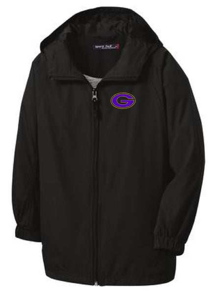 "Greenville ""G"" Sport-Tek® Hooded Raglan Jacket"