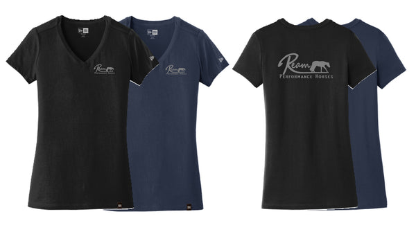 Ream Performance Horses Ladies' V-Neck Tee