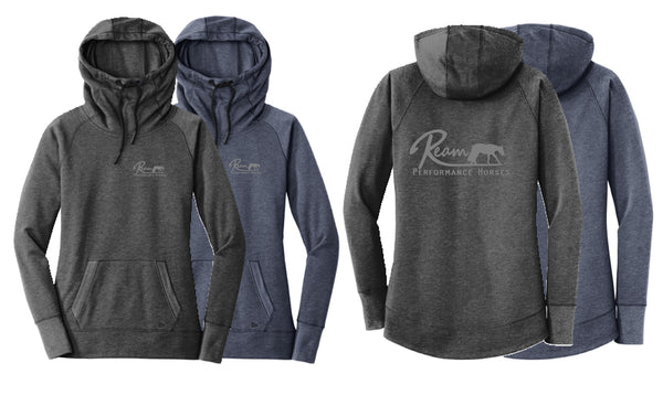 Ream Performance Horses Ladies' Fleece Hoodie