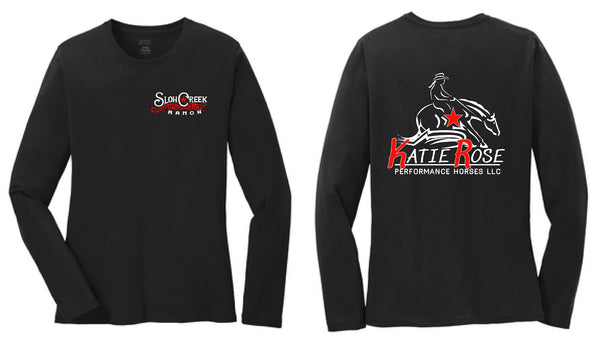 Katie Rose Performance Horses Ladies L/S Tee