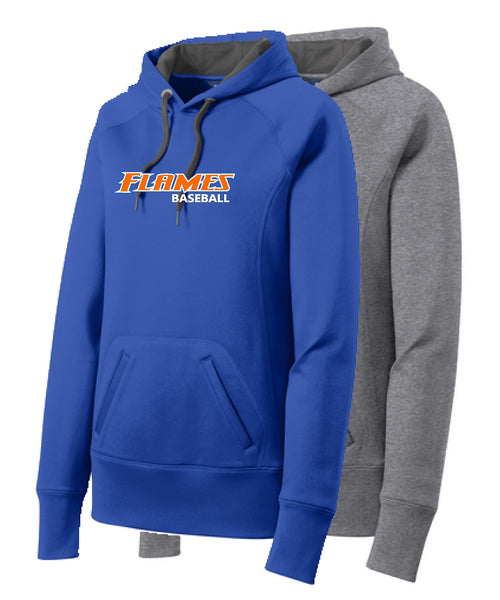 Flames Baseball Sport-Tek® Ladies Tech Fleece Hooded Sweatshirt