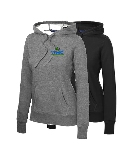 WMC Ladies Cotton/Poly Hoodie (Embroidered Logo)