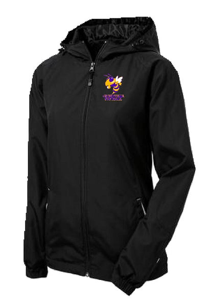Greenville Softball Sport-Tek® TEAM Ladies Colorblock Hooded Raglan Jacket