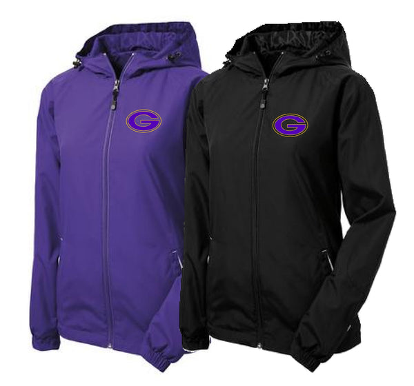 "Greenville ""G"" Sport-Tek® Ladies Colorblock Hooded Raglan Jacket"