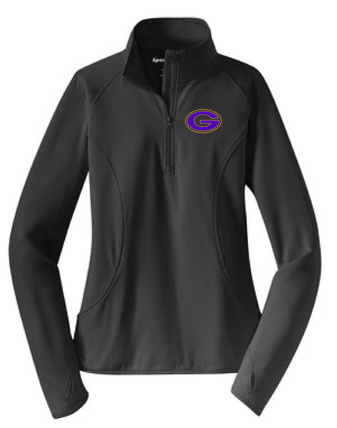 "Greenville ""G"" Sport-Tek® Ladies Sport-Wick® Stretch 1/2-Zip Pullover"