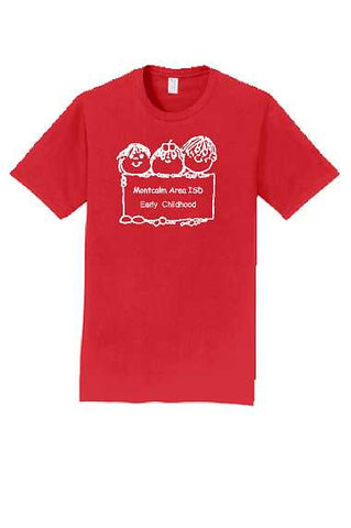 MAISD Early Childhood Adult Cotton S/S (Design #2)