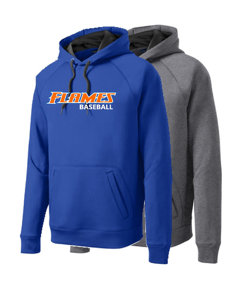 Flames Baseball Sport-Tek® Tech Fleece Hooded Sweatshirt