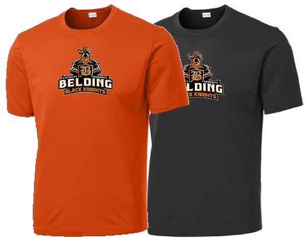 Belding Black Knights Sport-Tek® Youth PosiCharge® Competitor™ Tee