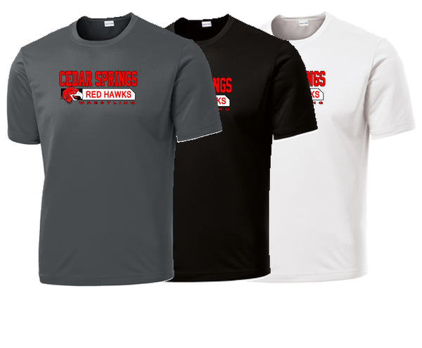 Cedar Springs Wrestling Performance S/S Tee