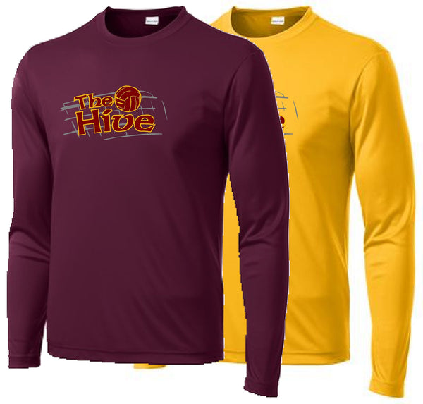 Hive Volleyball Sport-Tek® Long Sleeve PosiCharge® Competitor™ Tee