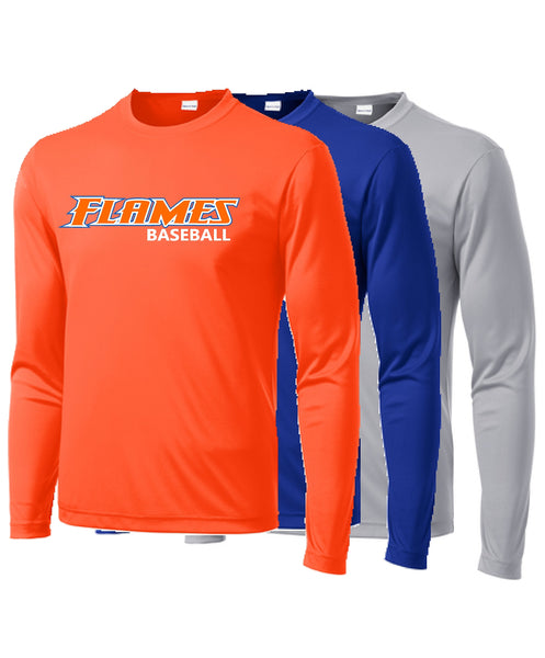 Flames Baseball Sport-Tek® Youth PosiCharge® Competitor™ Tee