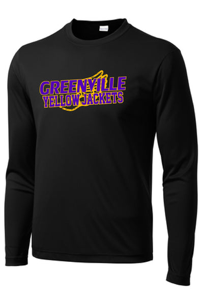 GHS Girls Track Performance L/S Tee