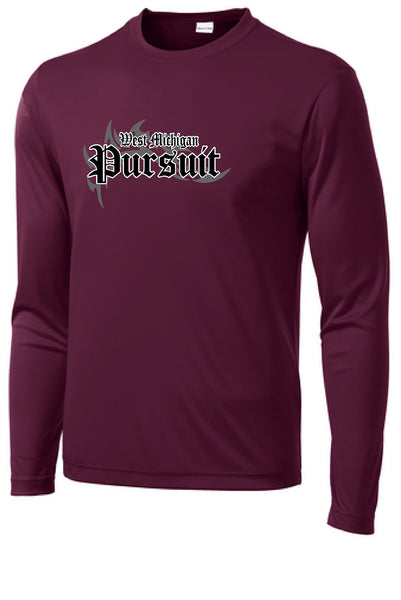Pursuit Wrestling  Sport-Tek® Long Sleeve PosiCharge® Competitor™ Tee
