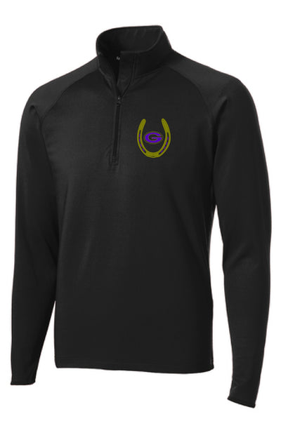 Greenville Equestrian Performance Poly 1/2 Zip Pullover