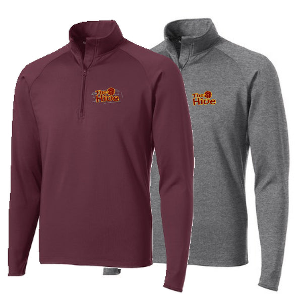 Hive Volleyball Sport-Tek® Sport-Wick® Stretch 1/2-Zip Pullover