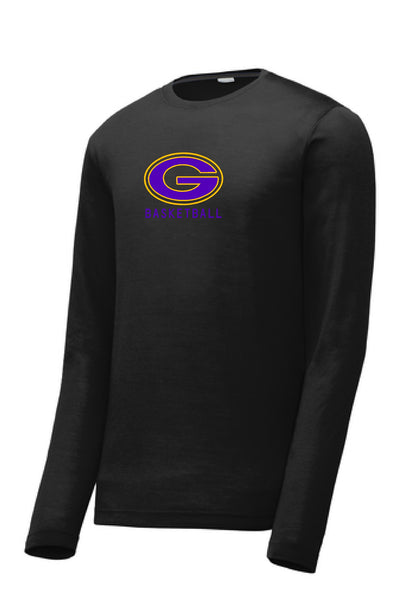 "Greenville Basketball Performance ""G"" L/S Tee"