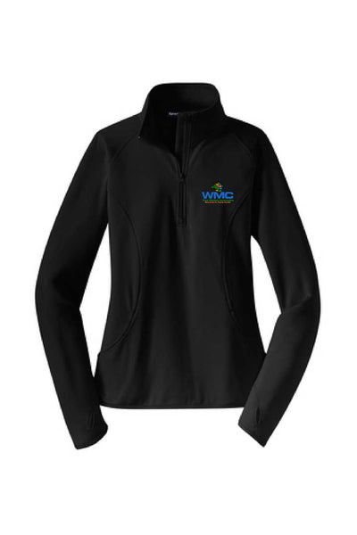 WMC Ladies 1/2 Zip (Embroidered Logo)
