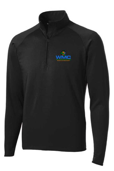WMC Adult 1/2 Zip (Embroidered Logo)
