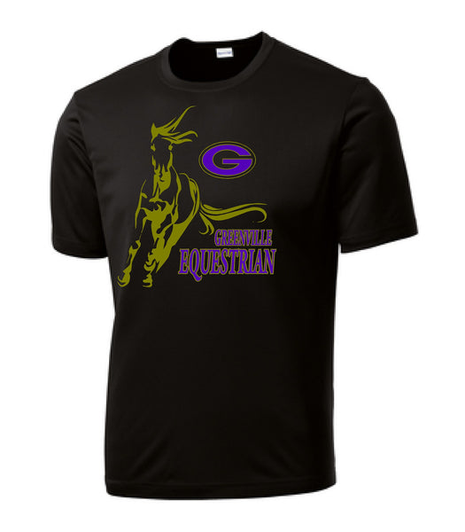 Greenville Equestrian Youth Performance Poly Tee