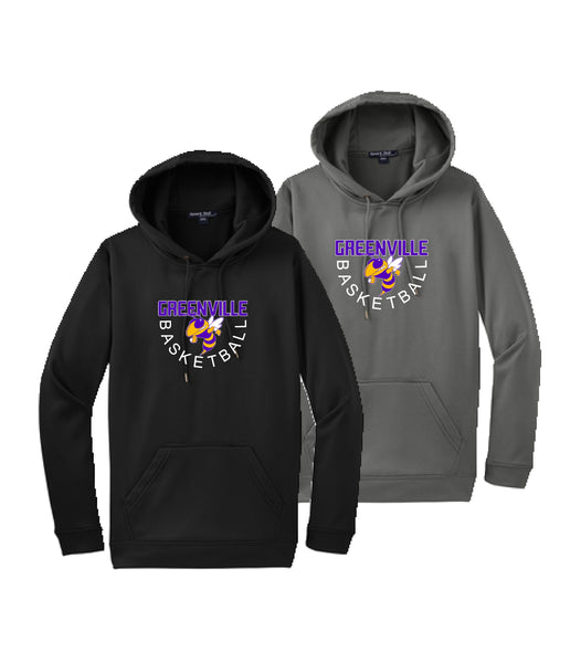 GHS Basketball Youth Performance Pullover Hoodie