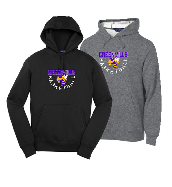 GHS Basketball Youth Cotton Pullover Hoodie