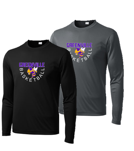 GHS Basketball Adult Performance L/S Tee