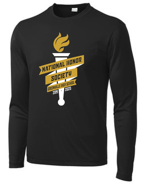 GHS National Honor Society Performance L/S Tee