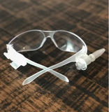 SHARP SERIES SAFETY GLASSES WITH SHARPENER
