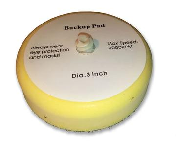 Roloc Foam Pad Disc Holder, 3-inch