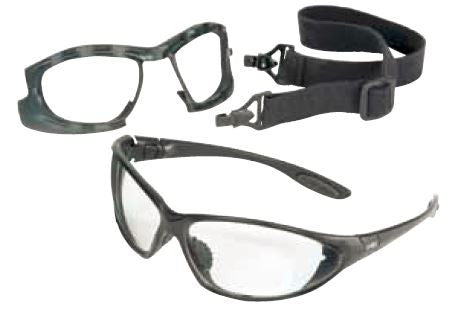 2-In-1 Safety Eyewear & Goggle