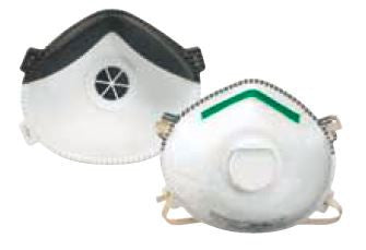 N95 Sanding & Insulation Valved Disposable Respirators - 10/Box