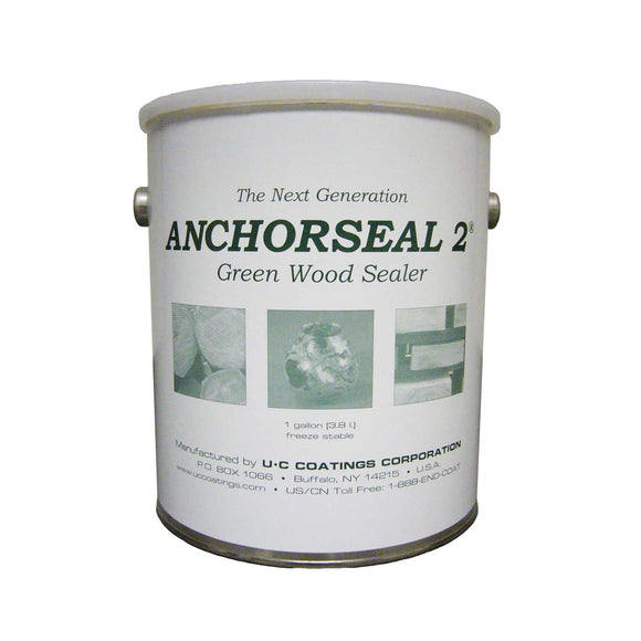 Anchor Seal 2 - Green Wood Sealer **(This item requires an additional charge of $12.00 beyond standard shipping at check-out billed separately through PayPal)
