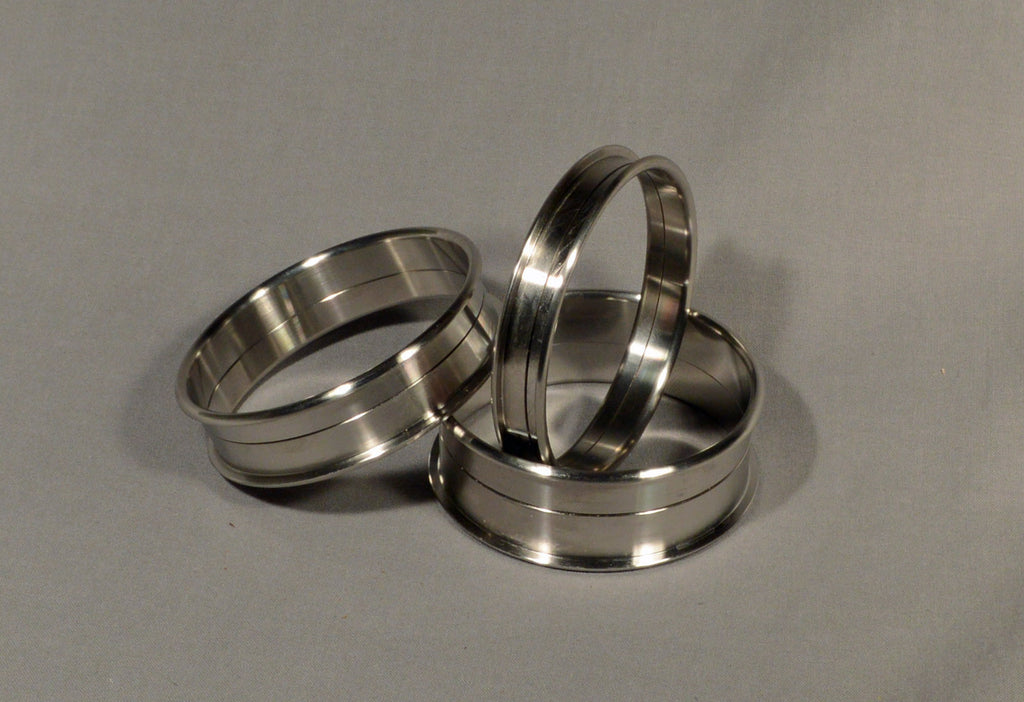 Bangles stainless steel pc core buffalo woodturning