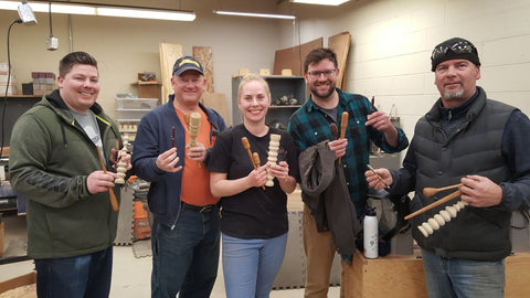 Beginning Woodturning Class                6-8-19