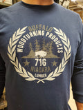 Buffalo Woodturning Products / Niagara Lumber Long Sleeve T-Shirt