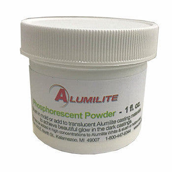 Alumilite Glow-In-The Dark Powder - 1 oz.