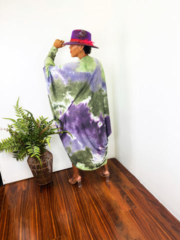 KAIRO - PURPLE/GREEN