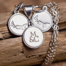 Island Logo Charm Earrings