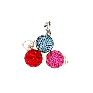 Crystal Charms (10 Colours)