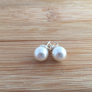 Simple Pearl Stud Earrings (6 Colours)