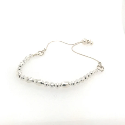 Build Your Own Morse Code Bracelet - Sterling Silver