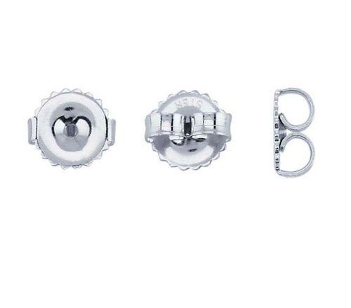 Sterling Silver Ear Nuts