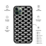 Black & White Philthy Biodegradable iPhone Case